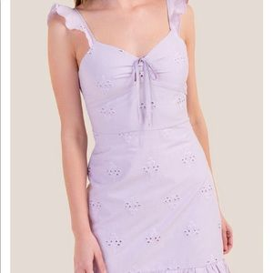 Color: Lilac  Can be dressed up and down